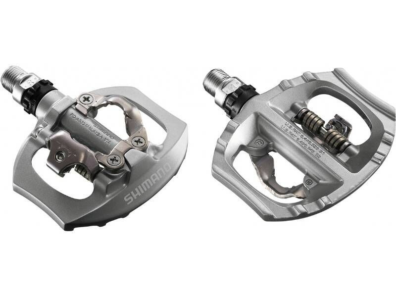 SHIMANO A530 Clipless Single Sided Pedals click to zoom image
