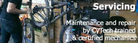 Workshop Bicycle Servicing
