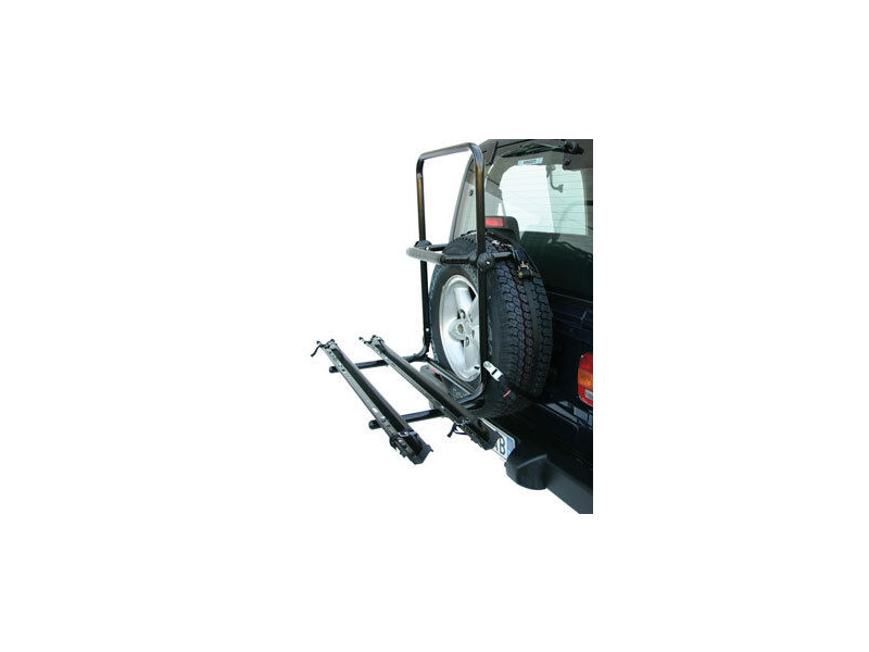 AVENIR Idaho 2 bike spare tyre fitting rack click to zoom image